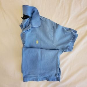 Ralph Lauren Polo Shirt Medium Baby Blue
